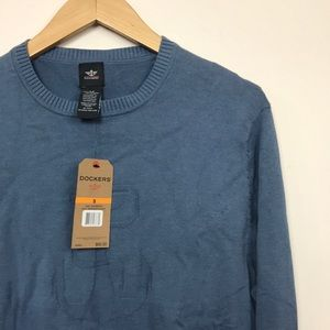 NWT Dockers Crew Nautical Logo